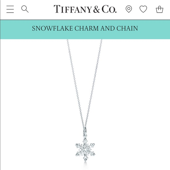 2a131b5b2 Tiffany & Co. Jewelry | Tiffanys Silver Snowflake Necklace | Poshmark